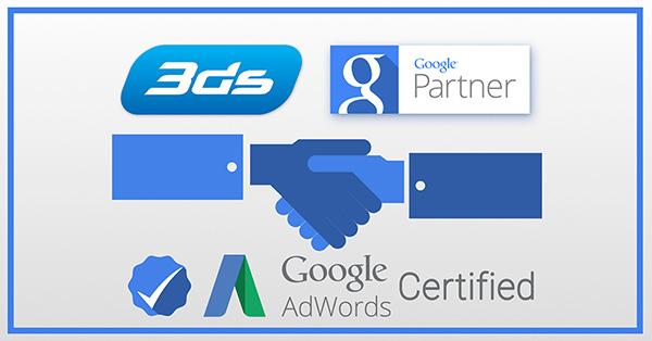 3ds Επίσημος Συνεργάτης Google Partner