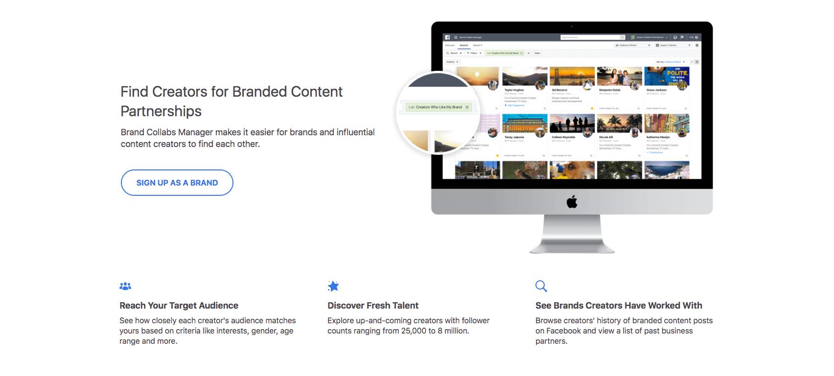 Brand Collabs Manager - έμαθες για τη νέα πλατφόρμα του Facebook;
