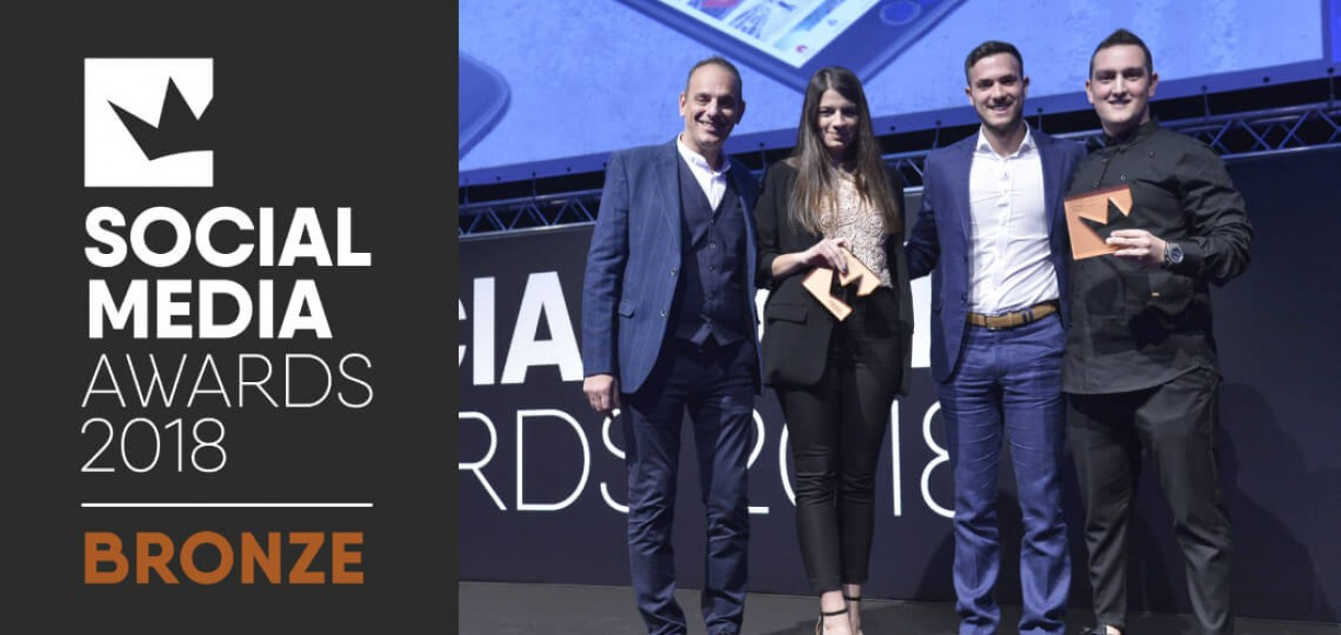 Social Media Awards 2018 - Bronze στη 3ds για τα Olympicstores.gr
